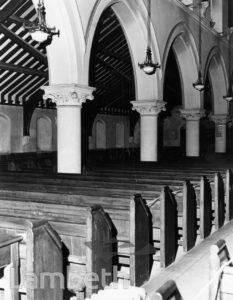 INTERIOR, ST SAVIOUR'S CHURCH, LAMBERT ROAD, BRIXTON HILL