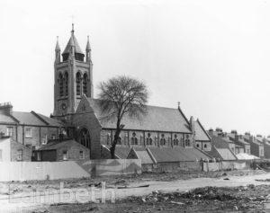 ST SAVIOUR'S CHURCH, LAMBERT ROAD, BRIXTON HILL