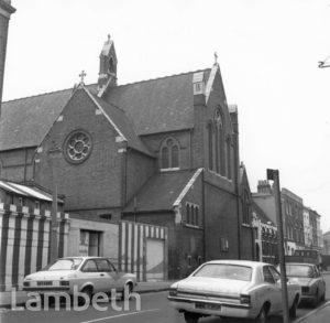 ST PETER'S CHURCH, CLAPHAM MANOR STREET, CLAPHAM