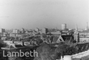 AERIAL VIEW ALBERT SQUARE AND SOUTH LAMBETH