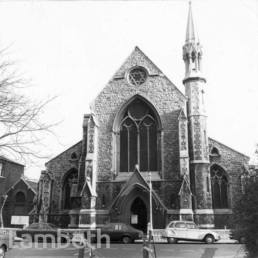 ST BARNABAS CHURCH, GUILDFORD ROAD, SOUTH LAMBETH