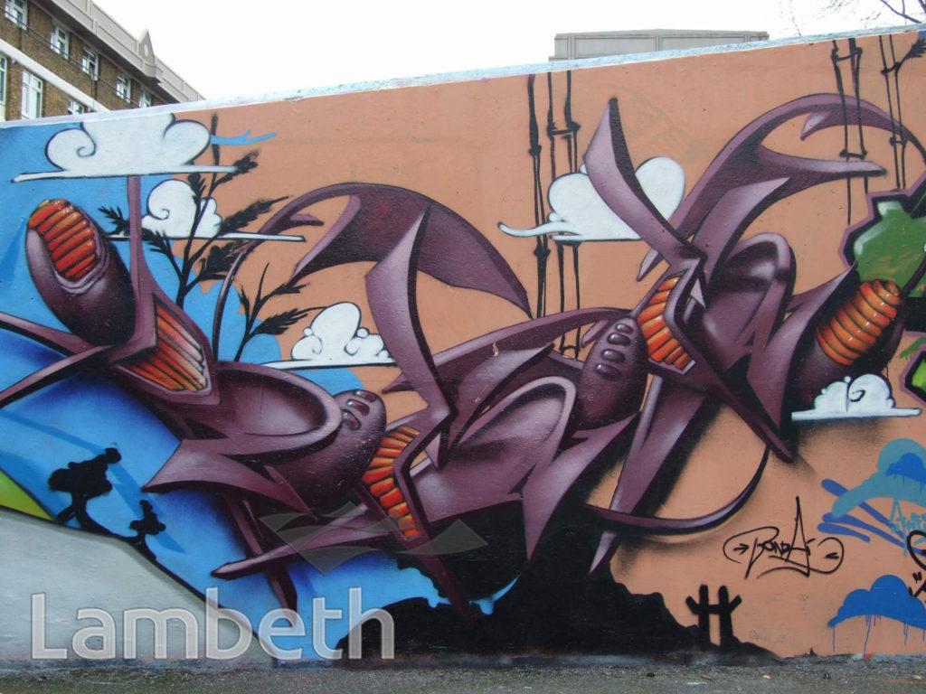 BONZAI ARTWORK, AYTOUN ROAD, STOCKWELL