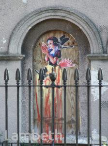 GRAFFITI, RALEIGH HOUSE, WINDRUSH SQUARE, BRIXTON