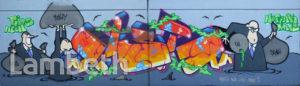 GRAFFITI, AYTOUN ROAD, STOCKWELL