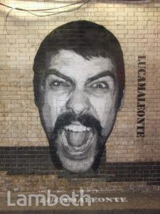 LUCAMALEONTE ARTWORK, CANS FESTIVAL, LEAKE STREET, WATERLOO