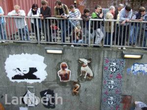 PUBLIC GRAFFITI AREA, CANS FESTIVAL, LEAKE STREET, WATERLOO