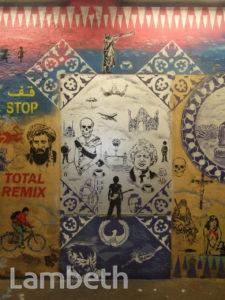 HUGO KAAGMAN ARTWORK, CANS FESTIVAL, LEAKE STREET