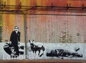 BEK LE RAT ARTWORK, CANS FESTIVAL, LEAKE STREET, WATERLOO