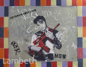 MBW ARTWORK, CANS FESTIVAL, LEAKE STREET, WATERLOO
