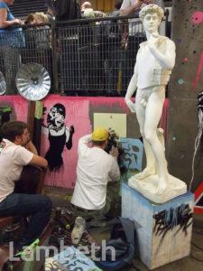 ARTWORKS, CANS FESTIVAL, LEAKE STREET, WATERLOO