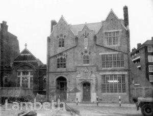 ARCHBISHOP TENISON'S SCHOOL, LAMBETH HIGH STREET, LAMBETH