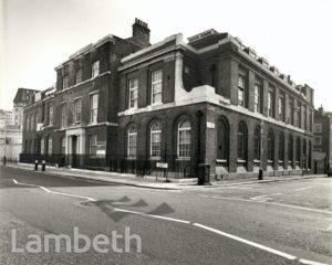 LONDON NAUTICAL SCHOOL, STAMFORD STREET, WATERLOO