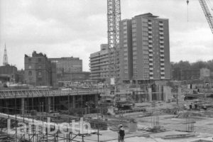 ST THOMAS' HOSPITAL CONSTRUCTION SITE, LAMBETH