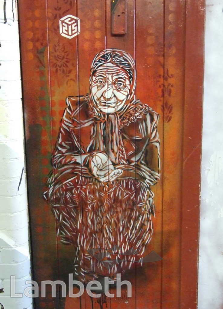 C215 ARTWORK, CANS FESTIVAL, LEAKE STREET, WATERLOO