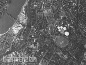 AERIAL VIEW, VAUXHALL