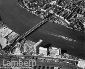 AERIAL VIEW, VAUXHALL BRIDGE