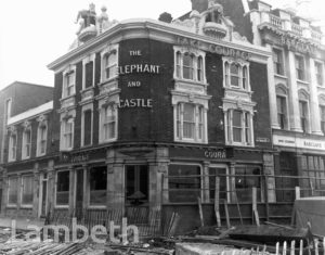 ELEPHANT AND CASTLE PUBLIC HOUSE, WANDSWORTH ROAD, VAUXHALL