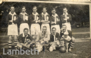 CORNWALL ROAD FOOTBALL TEAM