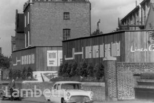 HAYES LAUNDRY, COLDHARBOUR LANE, LOUGHBOROUGH JUNCTION