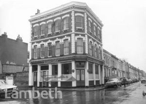WINDSOR CASTLE PUBLIC HOUSE, MAYALL ROAD, BRIXTON