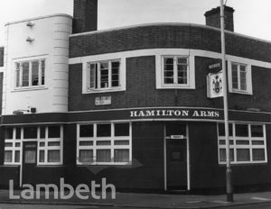 HAMILTON ARMS PUBLIC HOUSE, RAILTON ROAD, HERNE HILL