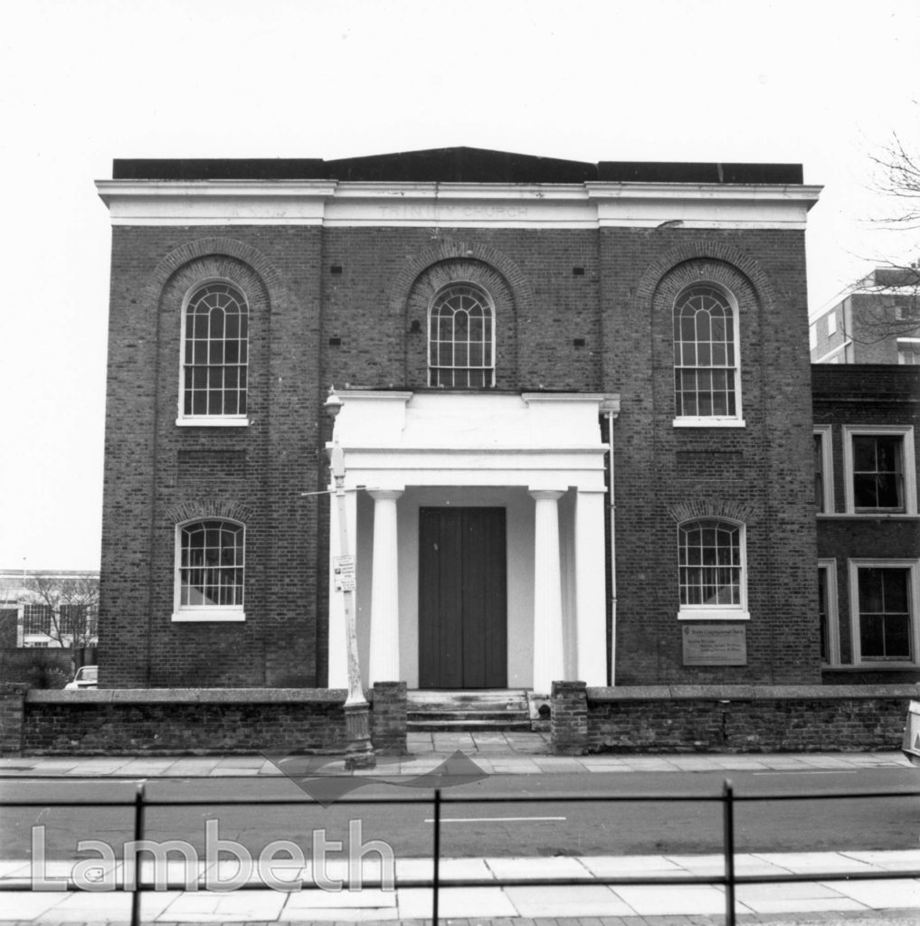 TRINITY CONGREGATIONAL CHURCH, ST MATTHEW'S ROAD, BRIXTON