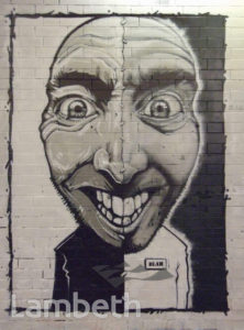 BLAM ARTWORK, LEAKE STREET, WATERLOO