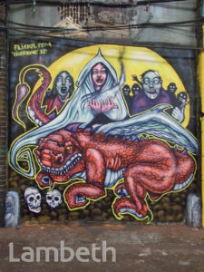 TIZER ARTWORK, LEAKE STREET, WATERLOO