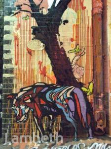 TACOS & MILO ARTWORK, LEAKE STREET, WATERLOO