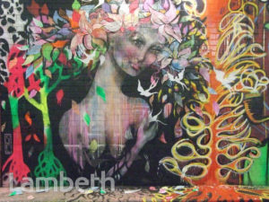 SHANNON CREES ARTWORK, LEAKE STREET, WATERLOO