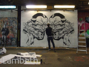 RUGMAN ARTWORK, LEAKE STREET, WATERLOO