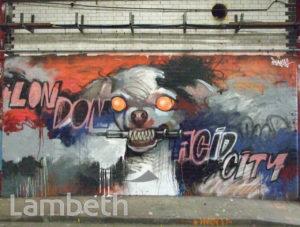 ARTWORK, LEAKE STREET, WATERLOO