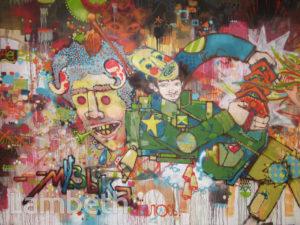 ELPH ARTWORK, LEAKE STREET, WATERLOO