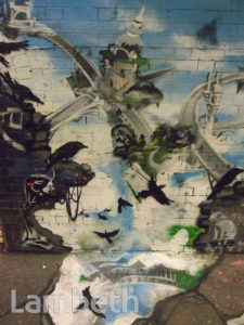 XENZ ARTWORK, LEAKE STREET, WATERLOO