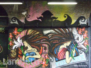INKIE ARTWORK, LEAKE STREET, WATERLOO