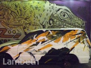 VOP & WILL BARRAS ARTWORKS, LEAKE STREET, WATERLOO