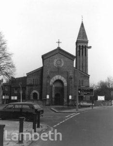 CHRIST CHURCH, CHRISTCHURCH ROAD, STREATHAM HILL