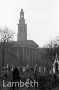 ST LUKE'S CHURCH, WEST NORWOOD