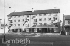 LAMBETH COUNCIL FLATS, HAMILTON ROAD, WEST NORWOOD