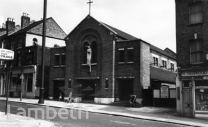 ST MATTHEW'S CHURCH, NORWOOD HIGH STREET, WEST NORWOOD