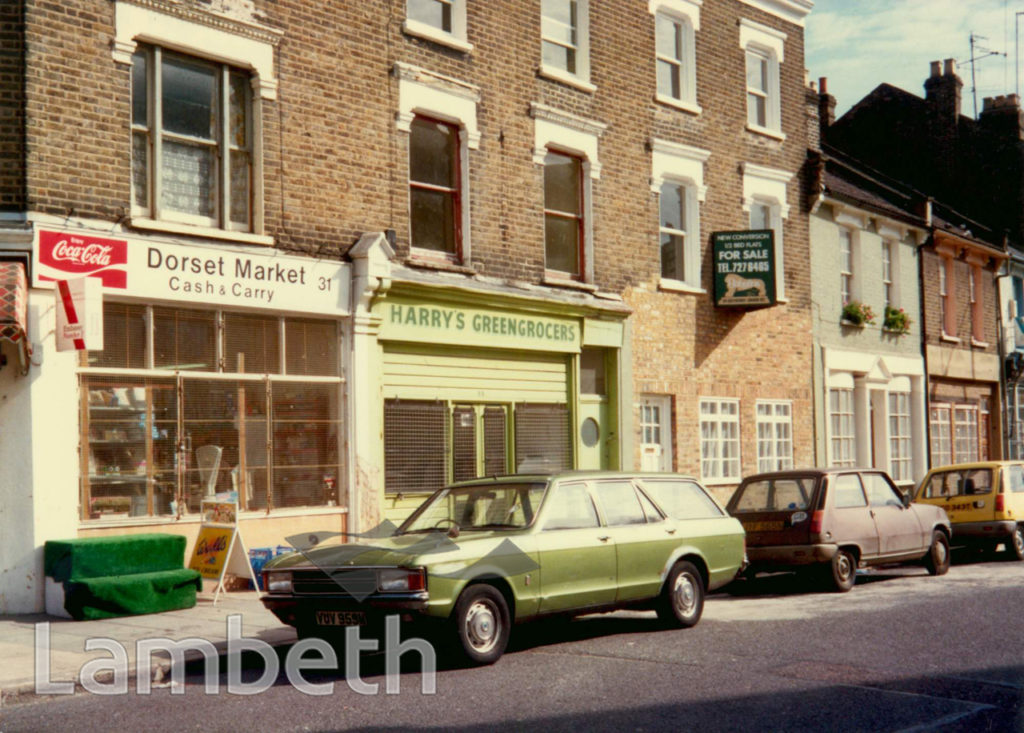 DORSET ROAD, SOUTH LAMBETH