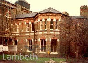 LAMBETH HOSPITAL, RENFREW ROAD, KENNINGTON