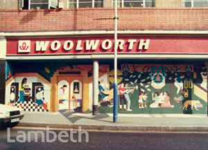 WOOLWORTH'S MURAL, COLDHARBOUR LANE, BRIXTON