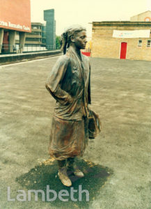 SCULPTURE, BRIXTON STATION, BRIXTON