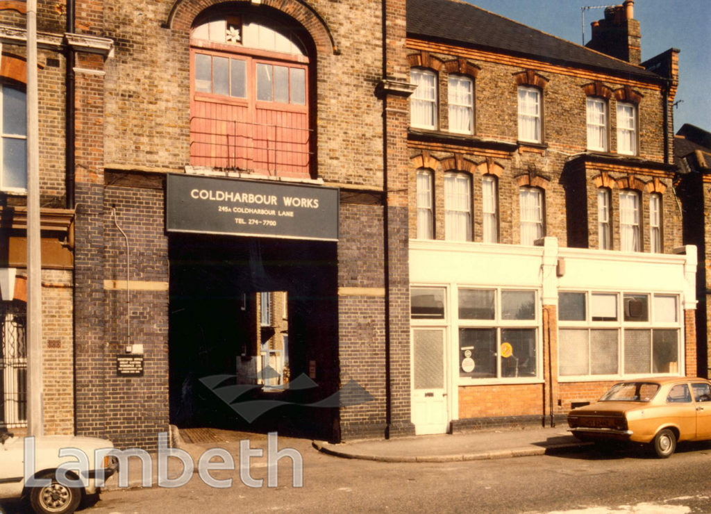 COLDHARBOUR WORKS, COLDHARBOUR LANE, LOUGHBOROUGH JUNCTION
