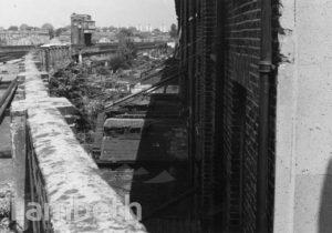 FLAXMAN ROAD HOUSES & RAILWAY LINE, LOUGHBOROUGH JUNCTION
