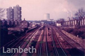RAILWAY TRACKS, LARKHALL RISE, CLAPHAM