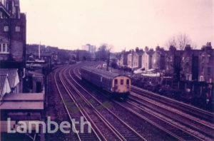 RAILWAY TRACKS, DOLMAN STREET, BRIXTON