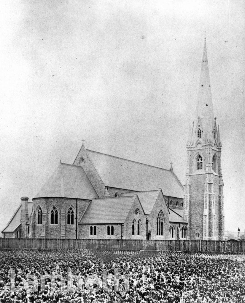 ST JAMES'S CHURCH, KNATCHBULL ROAD, BRIXTON NORTH