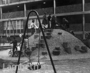 PLAY AREA, STOCKWELL PARK ESTATE, STOCKWELL